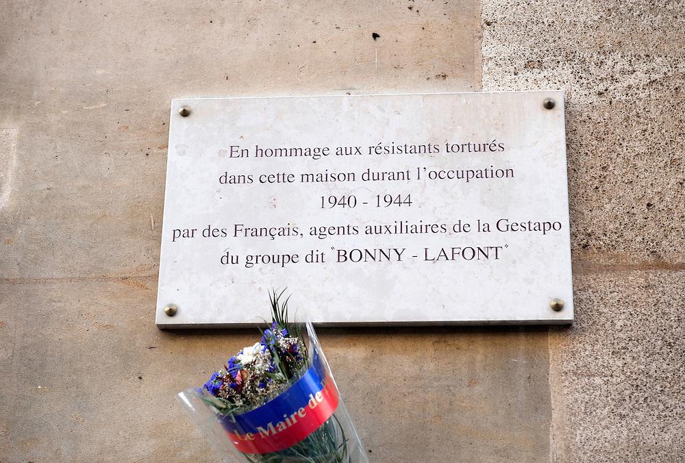 93, rue Saint Lauriston, Paris, headquarters of  Bonny - LaFont and Gestapo