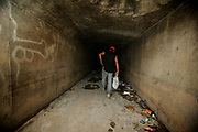Rick in the tunnel he calls home underneath the Mandalay Bays Casino.<br /> <br /> Sin City is the ultimate amusement park for adults. For some unlucky few, Vegas is anything but fun. They live in the storm drains right underneath The Strip.