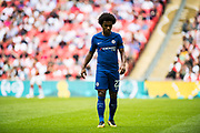 Chelsea (22) Willian during the FA Community Shield match between Arsenal and Chelsea at Wembley Stadium, London, England on 6 August 2017. Photo by Sebastian Frej.