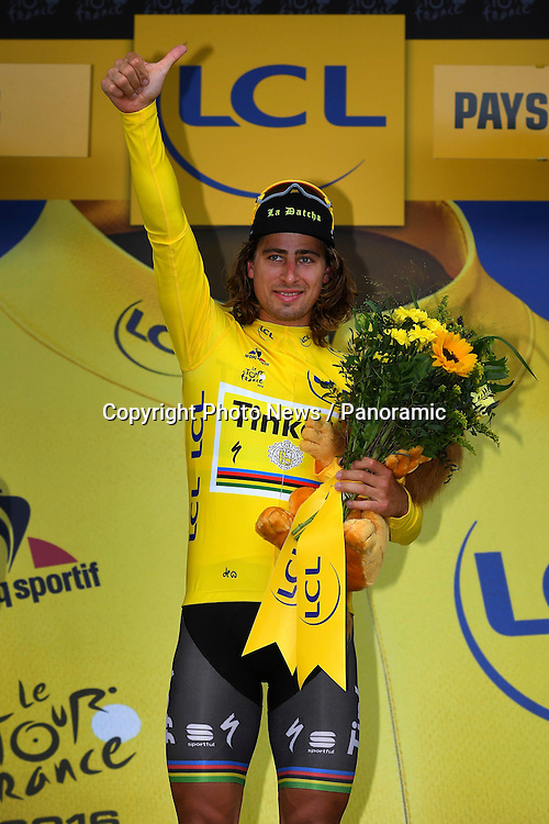 ANGERS, FRANCE - JULY 04 :  SAGAN Peter (SVK) Rider of TINKOFF