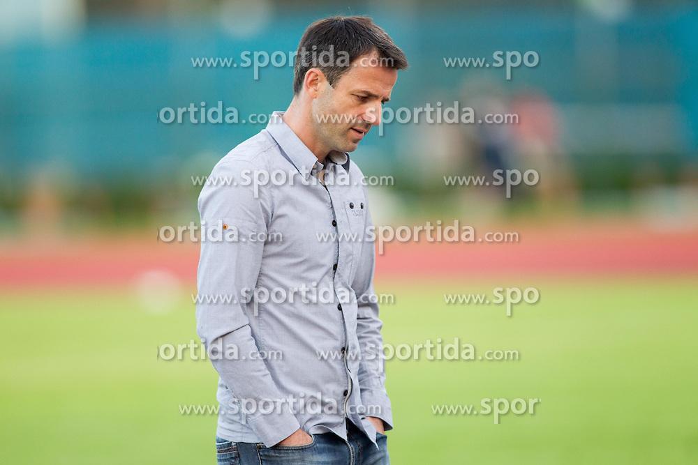 Dusan Kosic, head coach of Triglav during Friendly football match between NK Triglav and HNK Rijeka on June 25, 2013 in Sports park Kranj, Slovenia. (Photo by Vid Ponikvar / Sportida.com)