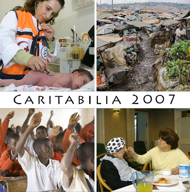 Caritabilia, Annual report cover. 2007