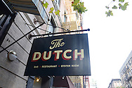The Dutch Restaurant. Soho, NYC