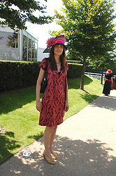 AINHOA DEWISME at the 4th day of the Glorious Goodwood racing festival 2007 held at Goodwood Racecourse, West Sussex on 3rd August 2007.<br />