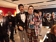 JORN WEISBRODT; RUFUS WAINWRIGHT, Prima Donna opening night. Sadler's Wells Theatre, Rosebery Avenue, London EC1, Premiere of Rufus Wainwright's opera. 13 April 2010