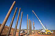 Jeceaba_MG, Brasil..Construcao de uma usina siderurgica em Jeceaba...The construction of the steel industry in Jeceaba...Foto: JOAO MARCOS ROSA / NITRO.