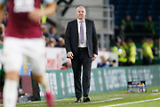 Sean Dyche Manager of Burnley during the EFL Cup match between Burnley and Sunderland at Turf Moor, Burnley, England on 28 August 2019.