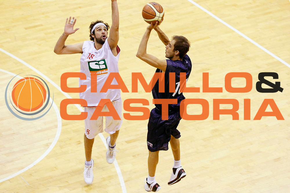 DESCRIZIONE : Milano Lega Nazionale Pallacanestro B Eccellenza 2007-08 Coppa Italia All Star Game Lnp Under 22 Lnp All Star <br /> GIOCATORE : Matteo Frassineti<br /> SQUADRA : Lnp Under 22<br /> EVENTO : LNP B Eccellenza 2007-2008 Coppa Italia<br /> GARA : Lnp Under 22 Lnp All Star <br /> DATA : 19/03/2008 <br /> CATEGORIA : Tiro Three Points<br /> SPORT : Pallacanestro <br /> AUTORE : Agenzia Ciamillo-Castoria/G.Cottini