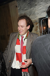 TOM INSKIP at the launch party for the new nightclub Public at 533 Kings Road, London on 2nd December 2010.