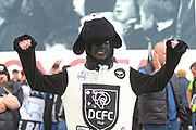 Derby County fan in fancy dress during the EFL Sky Bet Championship match between Derby County and West Bromwich Albion at the Pride Park, Derby, England on 5 May 2019.