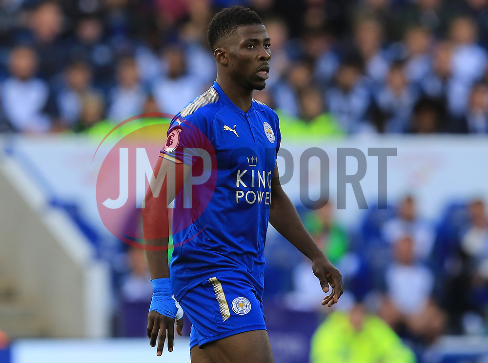 Kelechi Iheanacho of Leicester City - Mandatory by-line: Paul Roberts/JMP - 09/09/2017 - FOOTBALL - King Power Stadium - Leicester, England - Leicester City v Chelsea - Premier League