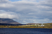 Village of Dooega on Achill Island, Atlantic Coast, Ireland.