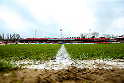A general view of The Wham Stadium, home to Accrington Stanley- Mandatory by-line: Robbie Stephenson/JMP - 17/04/2018 - FOOTBALL - Wham Stadium - Accrington, England - Accrington Stanley v Yeovil Town - Sky Bet League Two