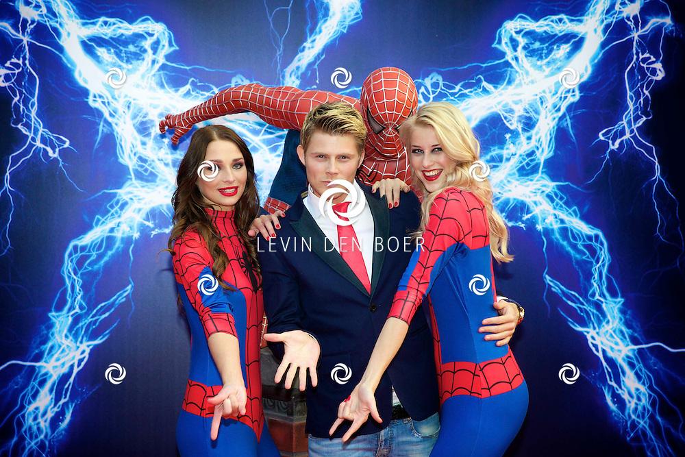 AMSTERDAM - Bij het Pathe ArenA Theater is de filmpremière van Spiderman II gehouden. Met hier op de foto  Tim Douwsma. FOTO LEVIN DEN BOER - PERSFOTO.NU
