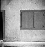 Window. <br /> Former VOC warehouses, Melaka.