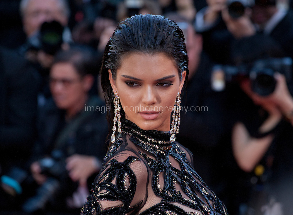Kendall Jenner at the gala screening for the film Mal De Pierres (From the Land of the Moon) at the 69th Cannes Film Festival, Sunday 15th May 2016, Cannes, France. Photography: Doreen Kennedy