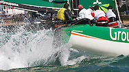 ENGLAND, Cowes, iShares Cup, 2nd August, Groupama 40.