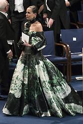 Sara Danius bei der Nobelpreisverleihung 2016 in der Konzerthalle in Stockholm / 101216 ***The annual Nobel Prize Award Ceremony at The Concert Hall in Stockholm, December 10th, 2016***