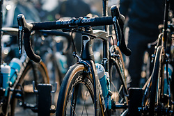K8s Pinarello of Team Sky before the start of the 115th Paris-Roubaix (1.UWT) from Compiègne to Roubaix (257 km) at Compiègne, France, 9 April 2017. Photo by Pim Nijland / PelotonPhotos.com | All photos usage must carry mandatory copyright credit (Peloton Photos | Pim Nijland)