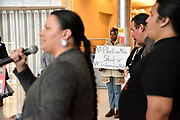 A third vigil for Colten Boushie, Tina Fontaine, and Errol Green is held at the CAW Student Centre at the University of Windsor, Canada and attracts about thirty people. There is a smudge ceremony, prayers, and speeches.