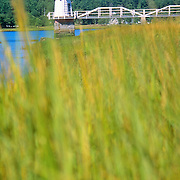Lighthouse on the Kennebec River. Bath, Maine