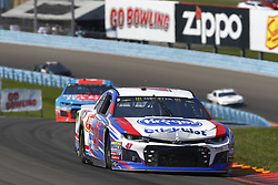 August 5, 2018 - Watkins Glen, New York, United States of America - AJ Allmendinger (47) brings his car through the turns during the Go Bowling at The Glen at Watkins Glen International in Watkins Glen , New York. (Credit Image: © Chris Owens Asp Inc/ASP via ZUMA Wire)