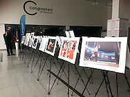 LODZ, POLAND - APRIL 09: Photo Exhibition by Adam Nurkiewicz while Film Video Photo Fair Lodz 2016 on April 09, 2016 in Lodz, Poland.<br /> <br /> Any editorial, commercial or promotional use requires written permission from the author of image.<br /> <br /> Adam Nurkiewicz declares that he has no rights to the image of people at the photographs of his authorship.<br /> <br /> Mandatory credit:<br /> Photo by © Adam Nurkiewicz / Mediasport