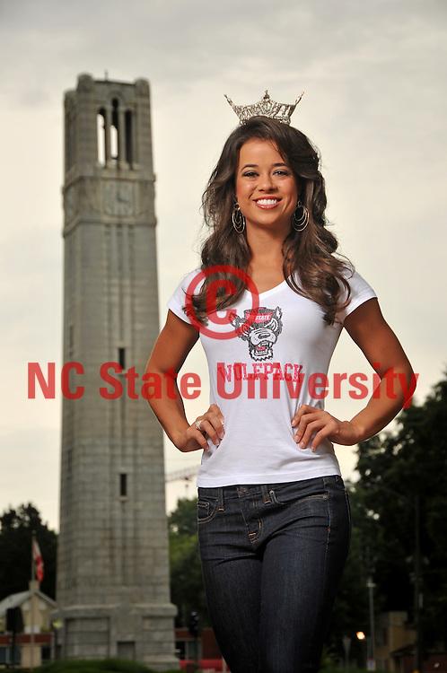 NC State alumnus/student and 2013 Miss North Carolina, Johna Edmonds.
