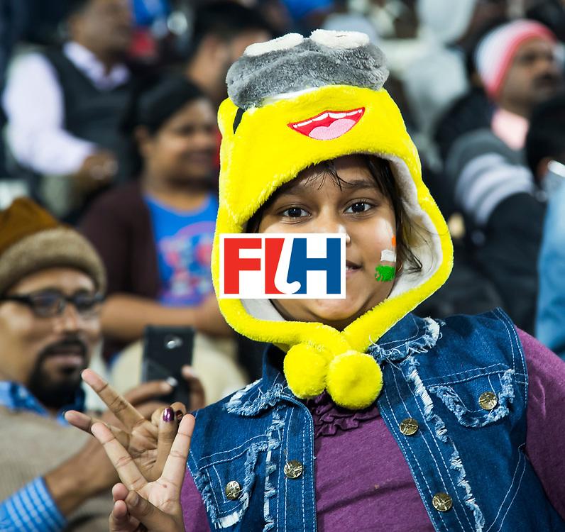 BHUBANESWAR - The Odisha Men's Hockey World League Final . Supporters india before the match India v Germany. WORLDSPORTPICS COPYRIGHT  KOEN SUYK