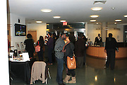 November 6, 2012- Harlem, NY:  Audience at the U.S. Presidential Election Watch Party held at the Schomburg Center for Research in Black Culture on November 6, 2012 in Harlem, New York City. The Schomburg Center for Research in Black Culture, a research unit of The New York Public Library, is generally recognized as one of the leading institutions of its kind in the world. For over 80 years the Center has collected, preserved, and provided access to materials documenting black life, and promoted the study and interpretation of the history and culture of peoples of African descent. (Terrence Jennings) .