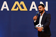 Virat Kohli Captain of India receives the POLLY UMRIGAR AWARD during the BCCI annual awards evening held at the Ritz Carlton Hotel in Bangalore, Karnartaka on the 8th March 2017. <br /> <br /> Photo by: Deepak Malik / BCCI/ SPORTZPICS