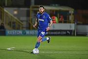 AFC Wimbledon midfielder Anthony Wordsworth (40) dribbling during the EFL Sky Bet League 1 match between AFC Wimbledon and Burton Albion at the Cherry Red Records Stadium, Kingston, England on 28 January 2020.