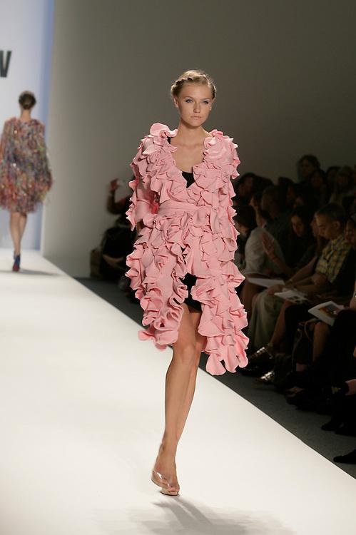 Terexov<br /> Spring/Summer Collection<br /> Mercedes-Benz Fashion Week<br /> New York, NY Sept 2008