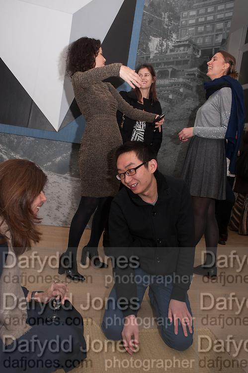 ZHAO YAO; MOLLIE DENT-BROCKLEHURST; WHITNEY HINTZ;  POLLY ROBINSON GAER,, Zhao Yao, Spirit Above All. Pace Soho, Lexington St. London. 11 February 2013