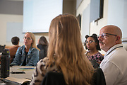 Faculty and Staff participate in a OHIO First Scholars Mentoring Program training session.  Photo by Ben Siegel/ © Ohio University