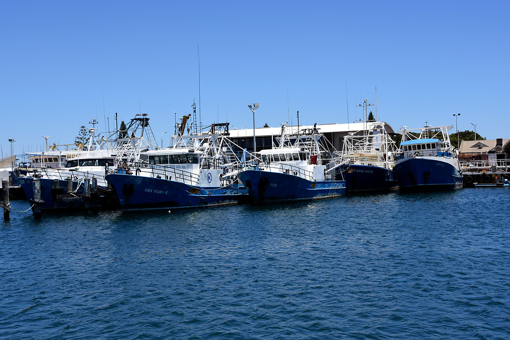 The Wharf at freemantle Harbour