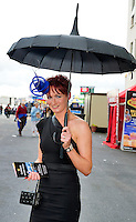 03/08/2012.Eilis O Neill Loughrea  at the Friday evening meeting of the Galway Races. Photo:Andrew Downes