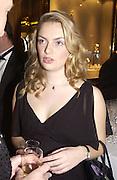 Sybilla Rufus-Isaacs. Crillon Debutantes Ball 2002. Paris. 7 December 2002. © Copyright Photograph by Dafydd Jones 66 Stockwell Park Rd. London SW9 0DA Tel 020 7733 0108 www.dafjones.com