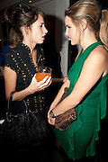 MARINA HANBURY; BEATA HEUMAN, Launch of Nicky Haslam's book Redeeming Features. Aqua Nueva. 5th floor. 240 Regent St. London W1.  5 November 2009.  *** Local Caption *** -DO NOT ARCHIVE-© Copyright Photograph by Dafydd Jones. 248 Clapham Rd. London SW9 0PZ. Tel 0207 820 0771. www.dafjones.com.<br /> MARINA HANBURY; BEATA HEUMAN, Launch of Nicky Haslam's book Redeeming Features. Aqua Nueva. 5th floor. 240 Regent St. London W1.  5 November 2009.