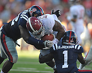 vs. Alabama at Vaught-Hemingway Stadium in Oxford, Miss. on Saturday, October 14, 2011. Alabama won 52-7.