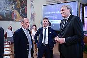 DESCRIZIONE : Bologna Basket Day Hall of Fame 2015<br /> GIOCATORE : Egidio Bianchi Federico Zurleni Dino Meghin<br /> SQUADRA : FIP Federazione Italiana Pallacanestro <br /> EVENTO : Basket Day Hall of Fame 2015<br /> GARA : Roma Basket Day Hall of Fame 2015<br /> DATA : 25/06/2016<br /> CATEGORIA : Premiazione<br /> SPORT : Pallacanestro <br /> AUTORE : Agenzia Ciamillo-Castoria/Michele Longo
