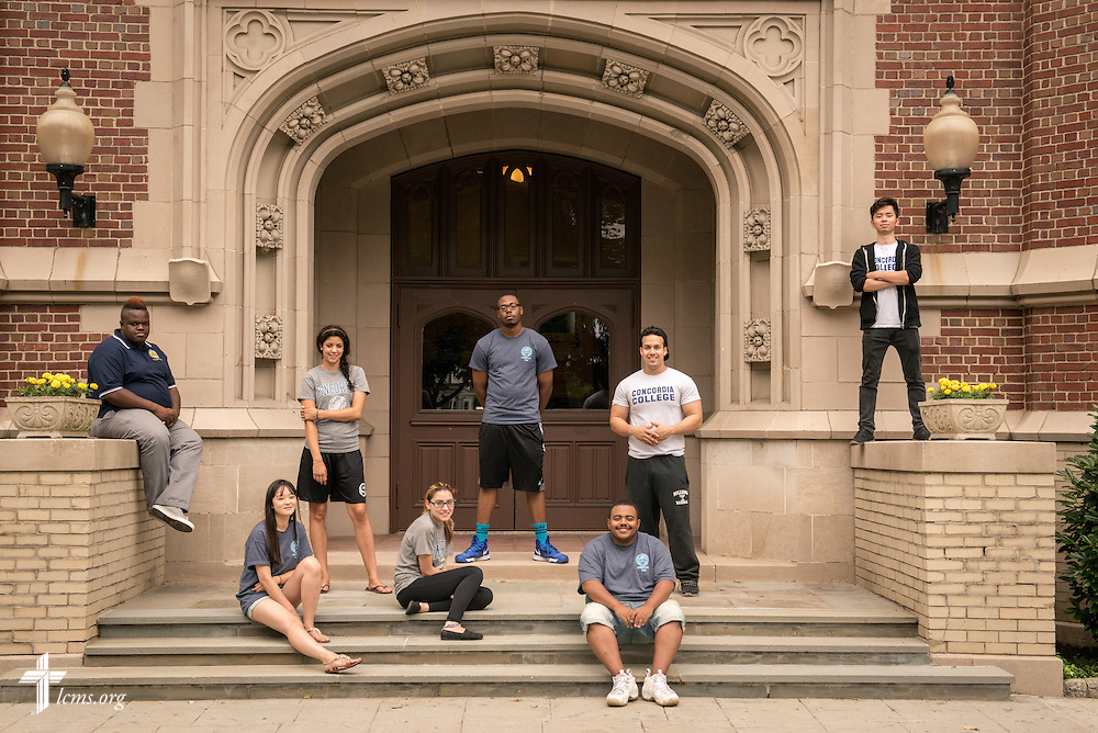 A portrait of students at Concordia College New York on Saturday, July 19, 2014, in Bronxville, NY. LCMS Communications/Erik M. Lunsford