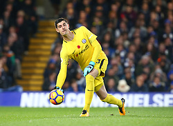 November 5, 2017 - London, England, United Kingdom - Chelsea's Thibaut Courtois..during the Premier League match between Chelsea and Manchester United at Stamford Bridge, London, England on 05 Nov  2017. (Credit Image: © Kieran Galvin/NurPhoto via ZUMA Press)