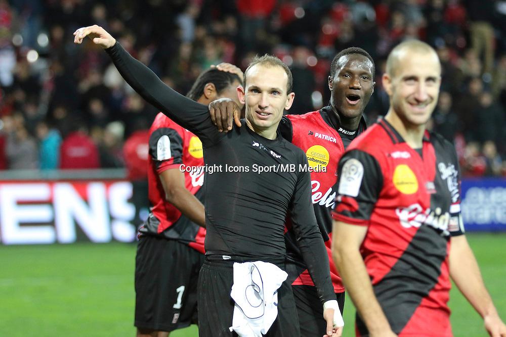 Thibault GIRESSE - 14.12.2014 - Guingamp / Paris Saint Germain - 18eme journee de Ligue 1<br />Photo : Vincent Michel / Icon Sport