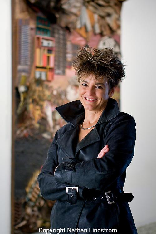 Mari Carmen Ramirez, Curator of Latin American Art at the Museum of Fine Arts Houston.