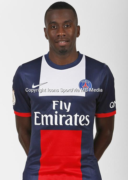 Blaise MATUIDI - 26.09.2013 - Photo officielle - Paris Saint Germain 2013/2014 - Ligue 1<br /> Photo : Icon Sport
