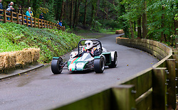 Boness Revival hillclimb motorsport event in Boness, Scotland, UK. The 2019 Bo'ness Revival Classic and Hillclimb, Scotland's first purpose-built motorsport venue, it marked 60 years since double Formula 1 World Champion Jim Clark competed here.  It took place Saturday 31 August and Sunday 1 September 2019. 49. Angus Buchan. Terrapin Mk5 SR