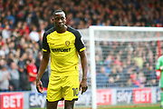 Burton Albion striker Lucas Akins (10) during the EFL Sky Bet Championship match between Nottingham Forest and Burton Albion at the City Ground, Nottingham, England on 21 October 2017. Photo by John Potts.