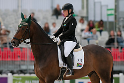 Victoria Ford riding Almar B in the Grade IV Individual Tests at the 2014 World Equestrian Games, Caen, Normandy, France