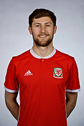 NANNING, CHINA - Saturday, March 24, 2018: Wales' Ben Davies during a squad photo shoot at the Wanda Realm Hotel on day five of the 2018 Gree China Cup International Football Championship. (Pic by David Rawcliffe/Propaganda)